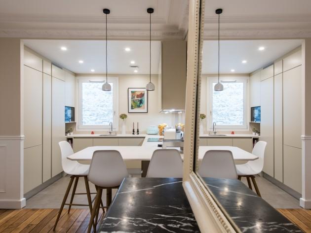 petite cuisine ouverte sur salon petite cuisine ouverte sur salon id. Black Bedroom Furniture Sets. Home Design Ideas