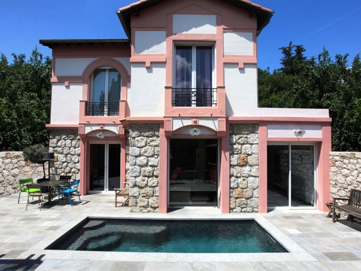 Petite piscine beton