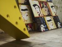 Pièces de décoration pop art