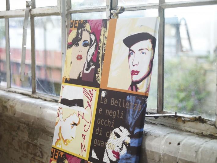 Pièces décoratives pop art