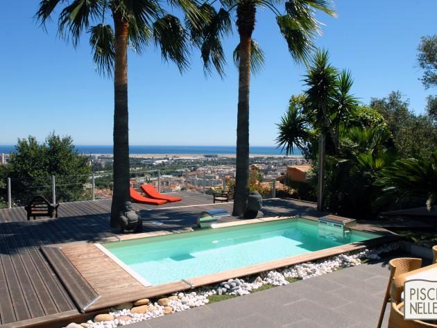 piscine rectangulaire cr piscinelle piscine bois. Black Bedroom Furniture Sets. Home Design Ideas