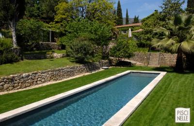 Piscine contemporaine verte photo ideesmaisoncom for Exceptional piscine forme libre avec plage 2 piscine piscines formes libres