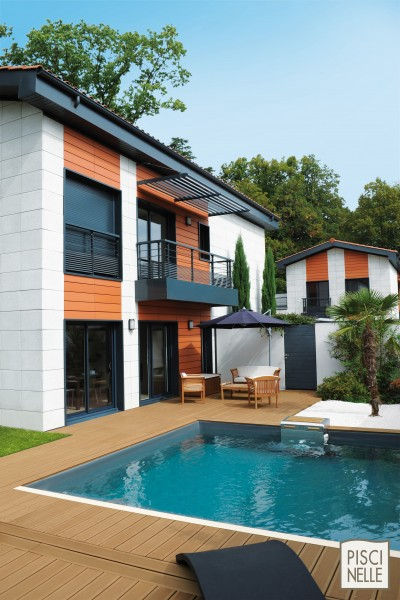 piscine rectangulaire cr piscinelle id. Black Bedroom Furniture Sets. Home Design Ideas