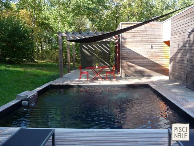 Piscine carr e bo piscinelle piscinelle bo piscine carr e avec table - Prix piscine piscinelle ...