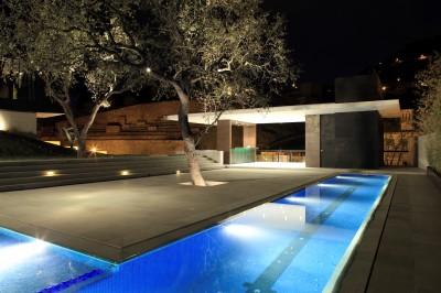 Pool house piscine