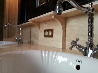 Idee deco salle de bains photo salle de bains page 5 - Prise de courant dans salle de bain ...