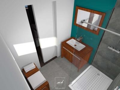 Photos sur le th me agencer une salle de bain for Agencer une salle de bain