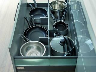 Rangement de casseroles et poêles