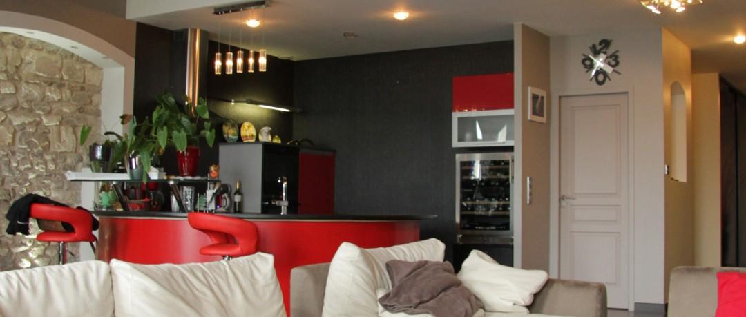 Rénovation d'un appartement à Macon (71)