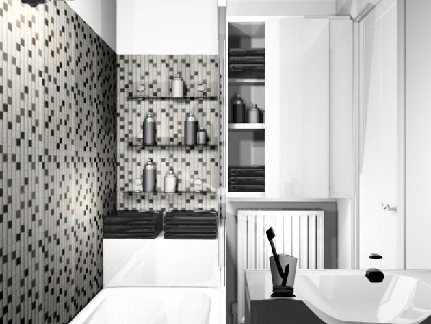 Décoration salle de bain moderne - MH Déco