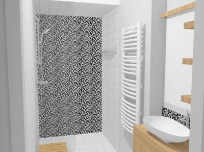 salle de bains contemporaine photo salle de bains. Black Bedroom Furniture Sets. Home Design Ideas