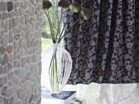 Rideaux au motif floral