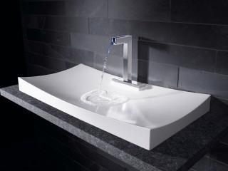 Robinetterie de lavabo HANSACANYON avec vasque HANSAMINACOR