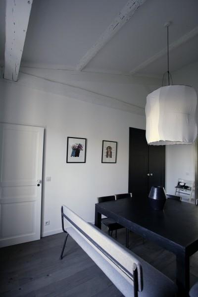 Idee deco salon salle manger photo salon salle - Grande table salle a manger design ...