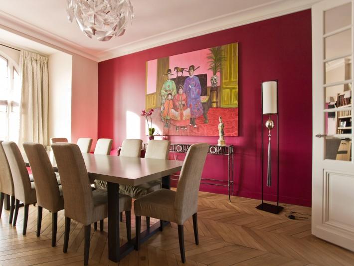 Décoration baroque - Ouest Home - Salle à manger moderne et ...