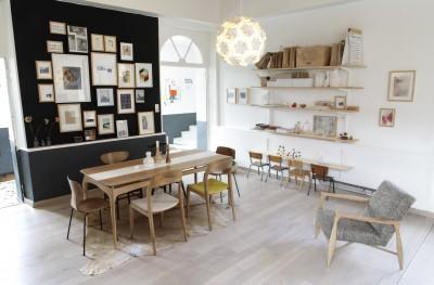 d co salle manger vintage. Black Bedroom Furniture Sets. Home Design Ideas