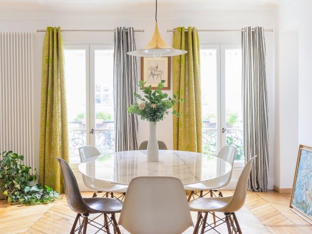 r novation appartement haussmannien salle manger id. Black Bedroom Furniture Sets. Home Design Ideas