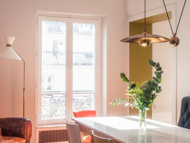 grand appartement haussmannien 180m2 salle manger id. Black Bedroom Furniture Sets. Home Design Ideas
