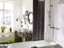 Salle de bain Classique avec Lampshower