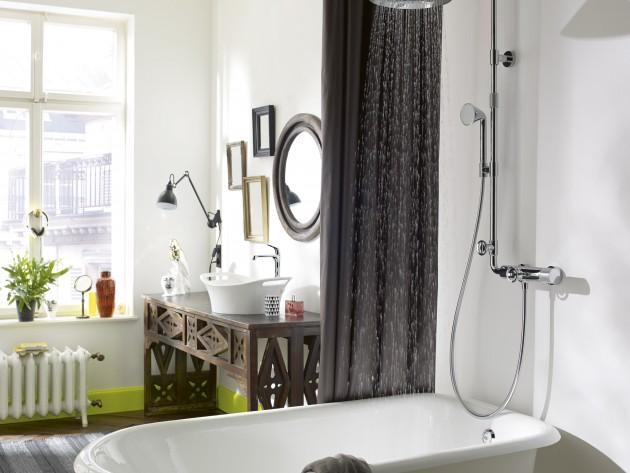 Robinetterie douche design front et nendo hansgrohe et - Robinetterie hansgrohe salle de bain ...