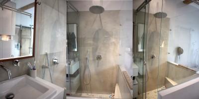 Idee deco salle de bains photo salle de bains page 4 - Beton cire salle de bains ...