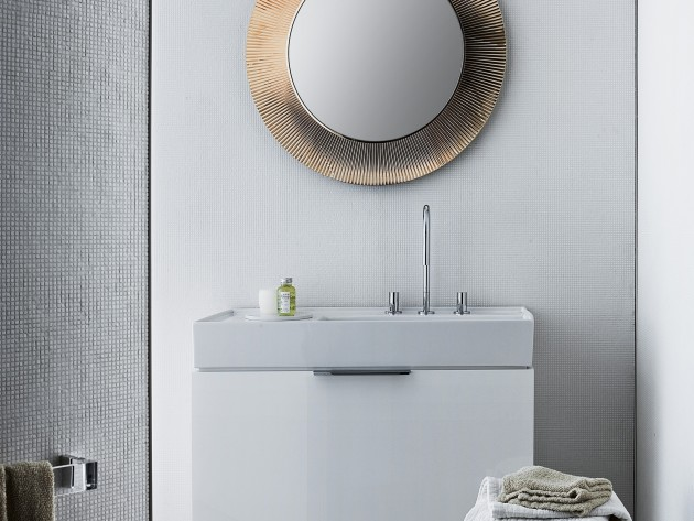 Salle de bain design kartell laufen france salle de - Lavabo classique salle bain ...