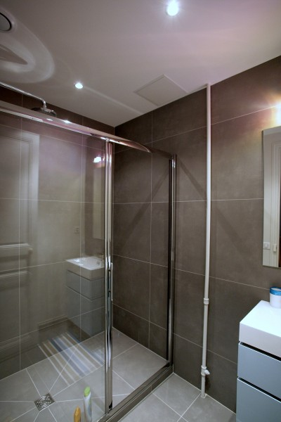 Photos sur le th me carrelage mural salle de bain - Carrelage mural douche italienne ...