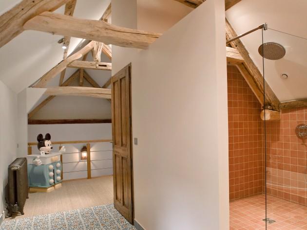 R novation chambres ouest home salle de bain en for Carrelage salle de bain motif