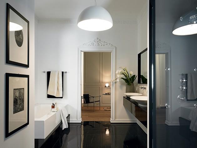 Salle de bain moderne et élégante