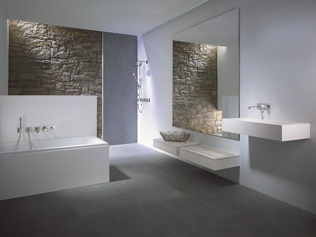 robinetterie salle de bains living hansa salle de bains hansadesigno avec robinetterie. Black Bedroom Furniture Sets. Home Design Ideas