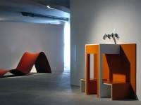 Salle de bains aux formes contemporaines HI-MACS®