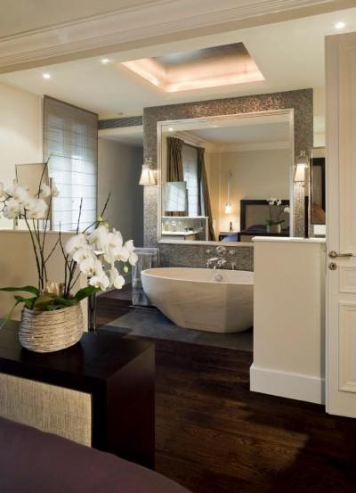 Chambre salle de bain integre for Chambre de bain moderne