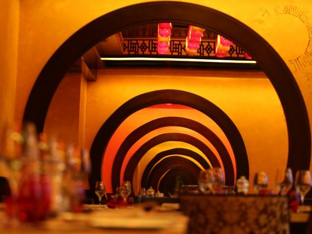 Salle de restaurant à l'hôtel Buddha