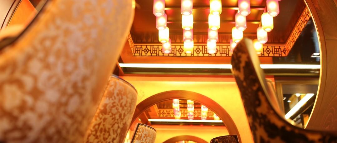 Salle de restaurant style asiatique