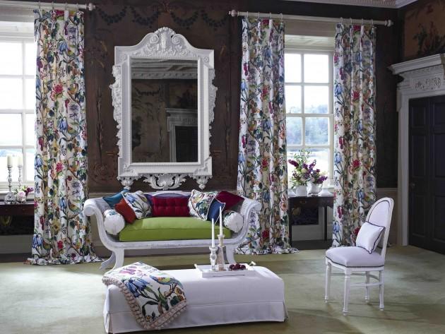 Textiles life prestigious textiles salon classique chic id for Deco salon classique