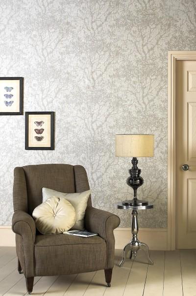Salon classique et naturel