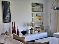Salon et éléments de décoration