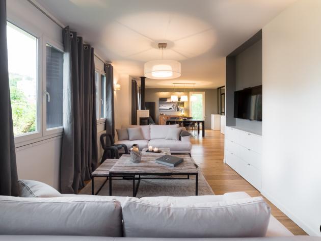 Inspiration salon moderne home design architecture for Inspiration salon moderne