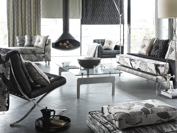 Salon sobre et design