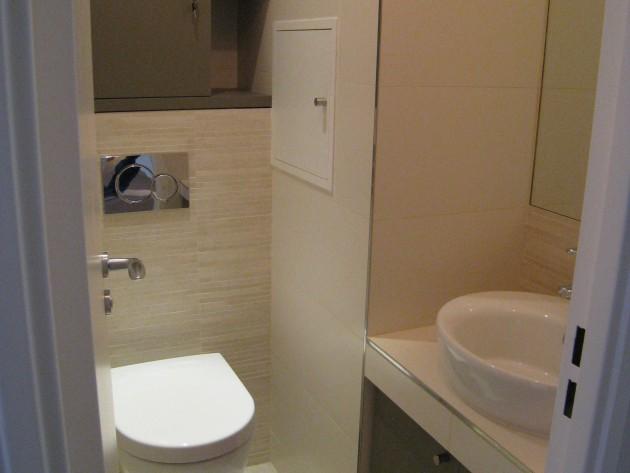 Sanitaires avec WC suspendus