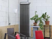 Séjour avec radiateur Zehnder Charleston