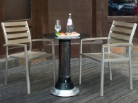 Table chauffante