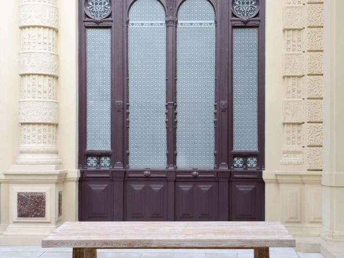 Mobilier de jardin design - Tectona - Table de jardin bois ...