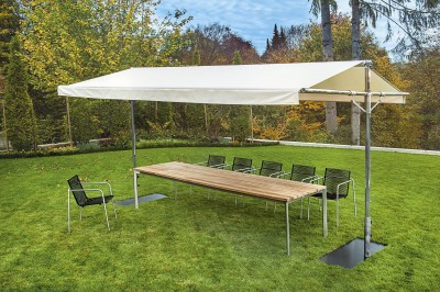 Mobilier de jardin design tectona id - Comment entretenir une table de jardin en teck ...