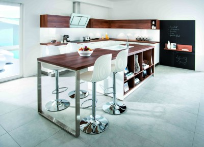 Cuisine strass magnolia nocce schmidt id for Table de cuisine plan de travail