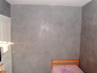 Chambre uniquement murs tadelakt id - Peinture tadelakt gris ...