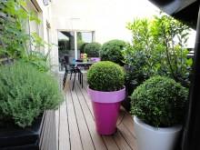 Terrasse lames de bois - Fiorellino
