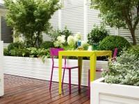 Terrasse avec espace dinatoire