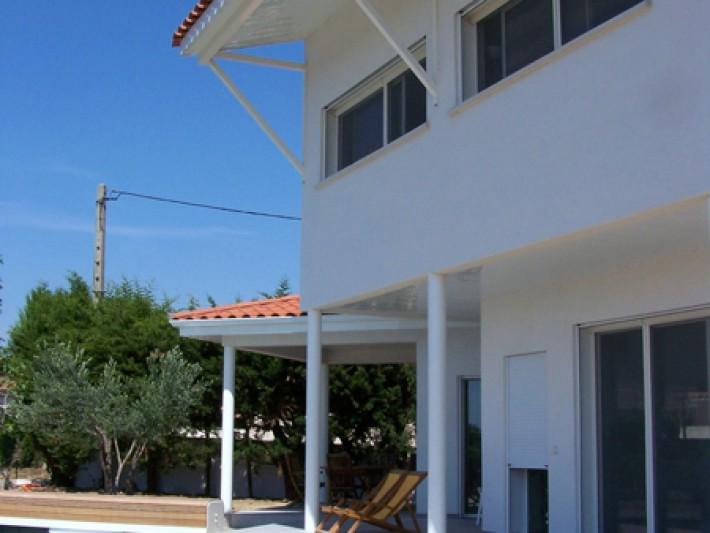 Terrasse de la maison