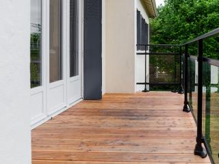 Terrasse exterieure bois